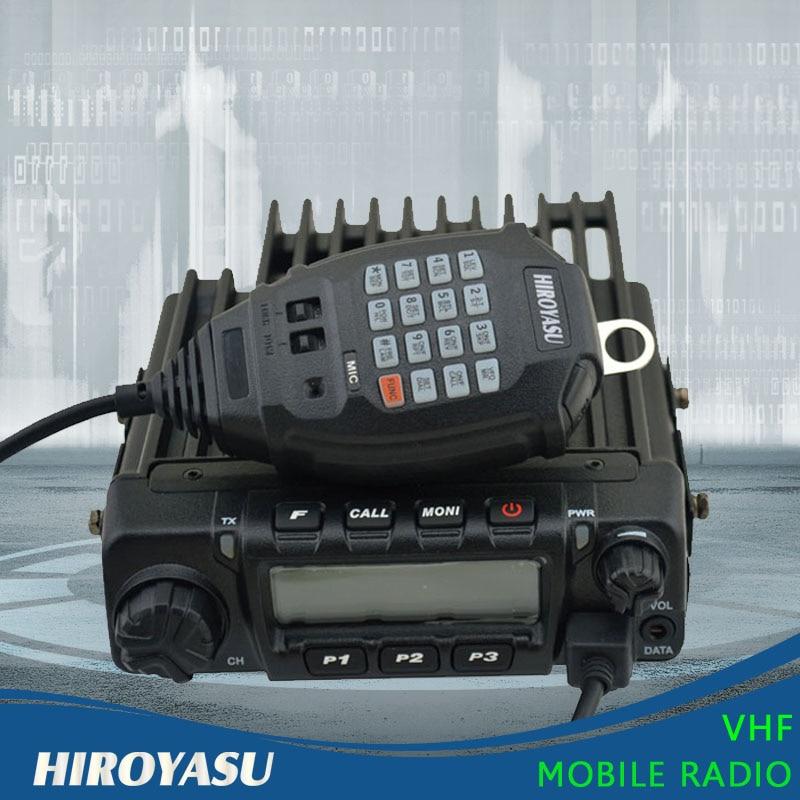 HIROYASU MH-370 VHF 136-174MHz 60Watt 200 Channels Mobile Radio Car Radio Station