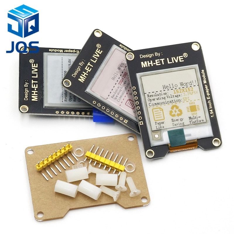 1.54 Inch Epaper Module E-paper E-Ink EInk Display Screen SPI Support Global/Part For Arduino STM raspberry pi ESP32