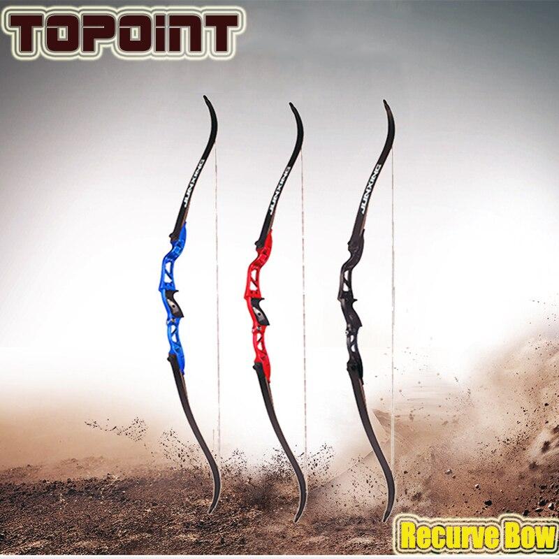 Arco de caza de 16-40lbs 66 pulgadas con soporte de flecha para la mano izquierda, ballesta exterior para caza, arco recurvo, arquería