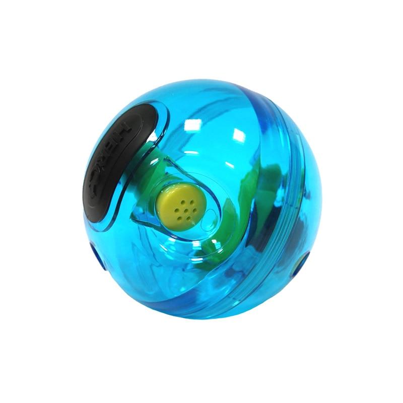 Caitec 개 완구 giggle treat dispensing ball 재미 있은 소리 만들기 hard ball 내구성 노화 및 씹는 애완 동물 장난감 물린 방지