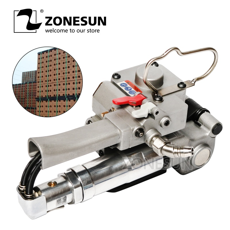ZONESUN XQD-25 Pneumatic Plastic Strap Wrapping Tool