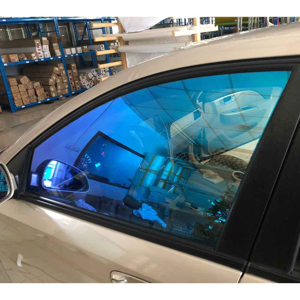 "50cm x 400cm (20 ""x 157"") nano Keramik Film Chameleon Farbe Auto Fenster Tönung 55% VLT Solar Tönung Film Fenster Glas Film"