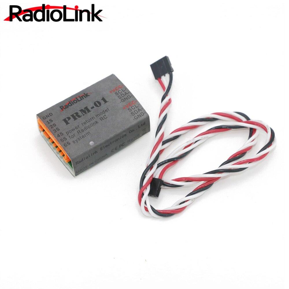 Módulo de retorno de datos Radiolink PRM-01 sensor de telemetría para Control remoto del transmisor AT9 AT10