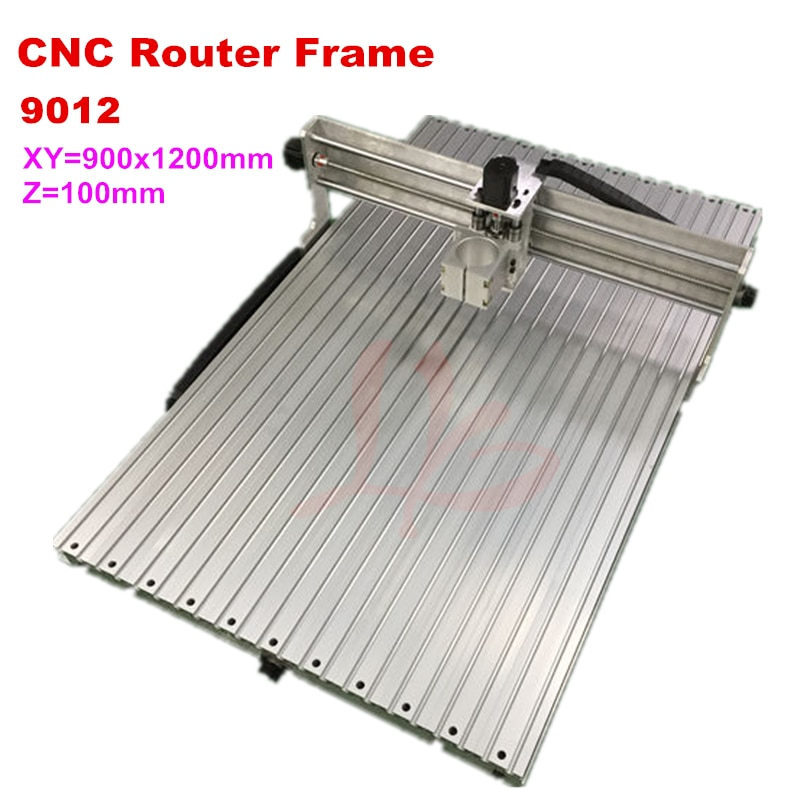 CNC cadre de routeur 900*1400mm taille de travail démonté 65mm 80mm axe montage pour cnc industrielle gravure fraiseuse