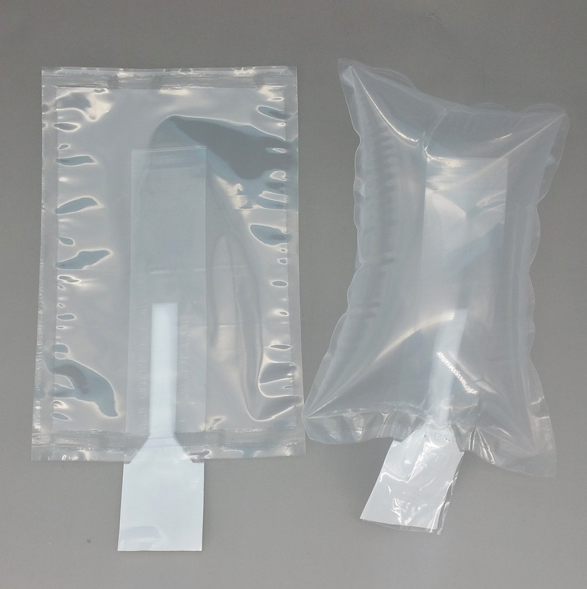 30x40cm Plastic Clear PE Protective Pump Inflatable Cushioning Buffer Packing Material Bags For Packaging Shockproof 1000pcs