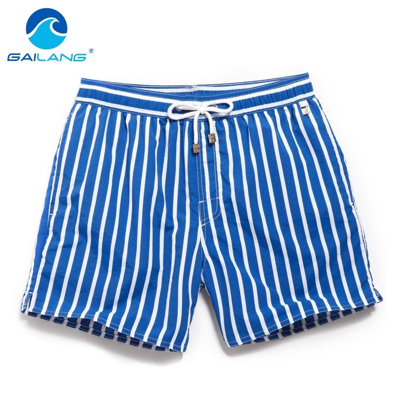 Gailang-شورت بوكسر للرجال ، ملابس سباحة ، شورت غير رسمي ، شورت برمودا ، شاطئ ، 2016