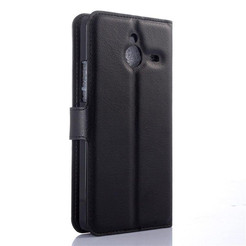 Funda abatible de cuero para Nokia Microsoft Lumia 640 XL 640XL LTE...