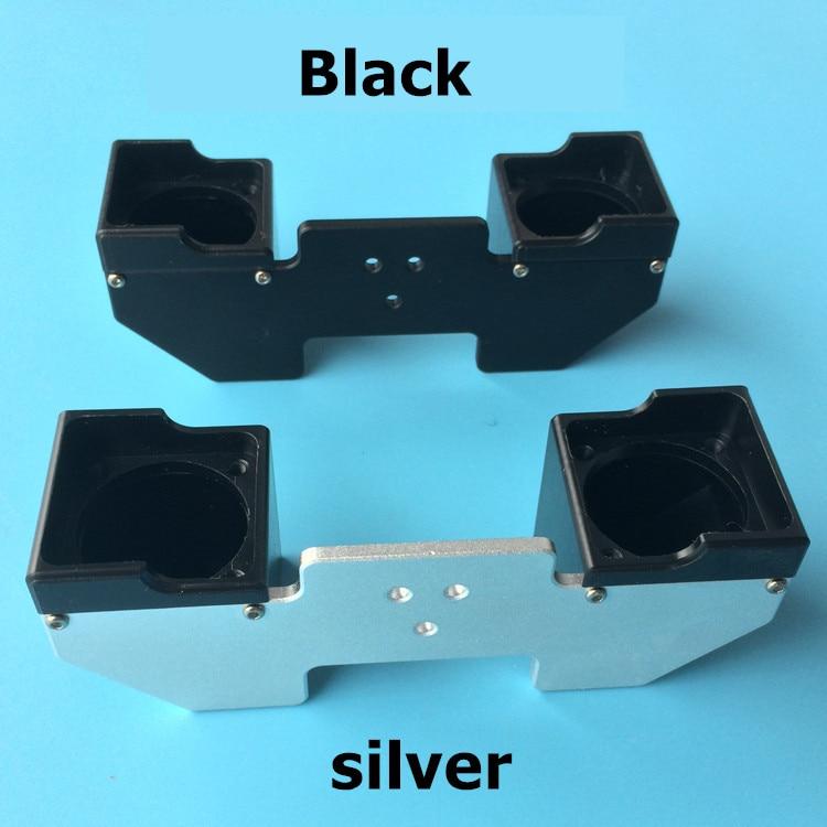 Ultimaker 2 Запчасти для 3D-принтера вентилятор воздуховод Chimera dual 2 в 2 Выход hotend Экструзионная головка вентилятор направляющий воздуховод/крышка