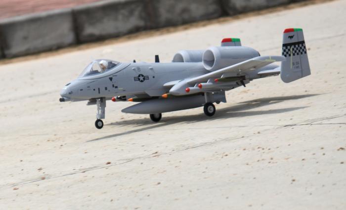 Freewing A10 Twin 64mm EDF rc jet plane PNP, Warthog Thunderbold II A10 de gran escala
