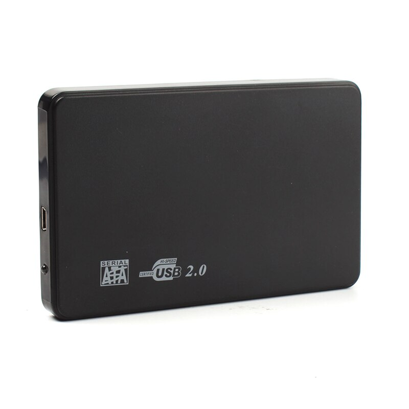 Hi-speed USB 2.0 SATA 2.5 Portable HDD Hard Disk Drive 500GB Enclosure HD Box