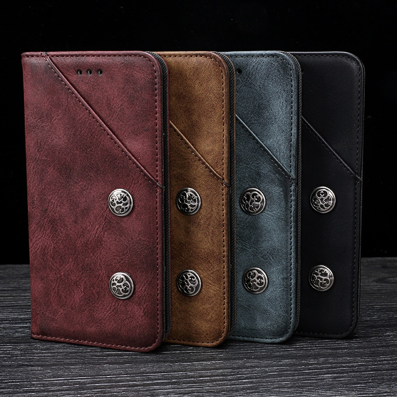 Magnet Flip Brieftasche Buch Telefon Fall Leder Abdeckung Auf Für Oppo Realmi Realme 6 Pro 6i Realme6 Realmi6 6Pro ich 6/8 64/128 GB Globale