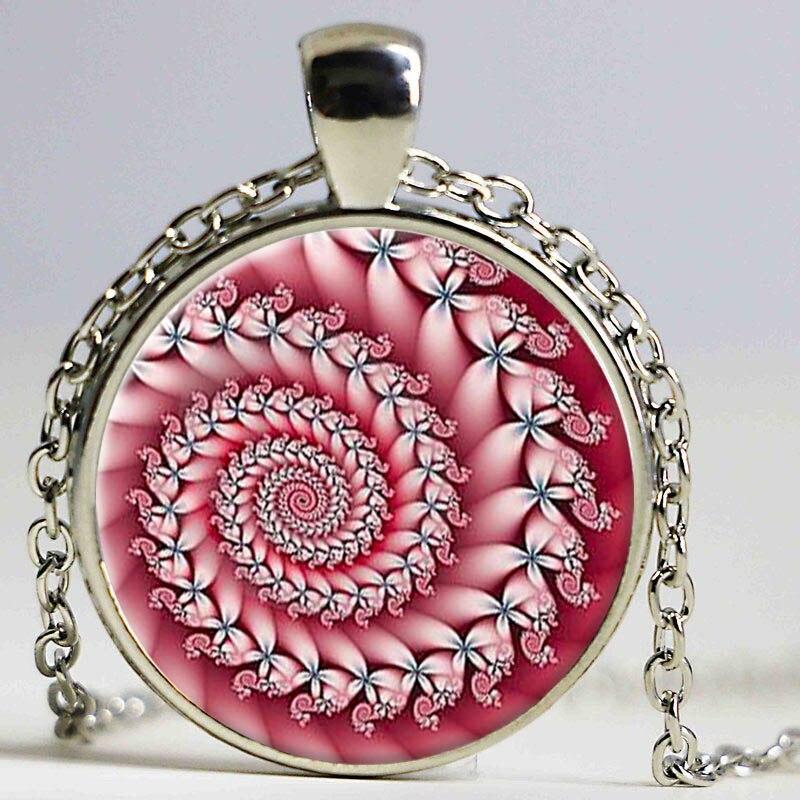 Archangel Uriel Sigil glas Halsketten mode silber Farbe Kette Halskette für männer Vintage anhänger Schmuck mann geschenk