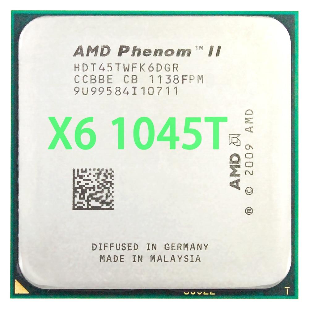 AMD Phenom II X6 1045T procesador de CPU seis-Core 2,7 Ghz/ 6M...