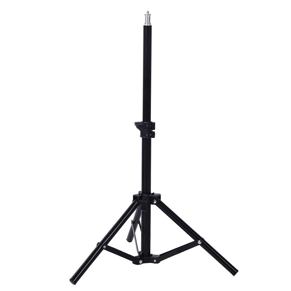 Photography Studio Adjustable 45cm-75cm Light Stand Tripod With 1/4 Screw Head For Camera Photo Lamp Bracket Holder Softbox