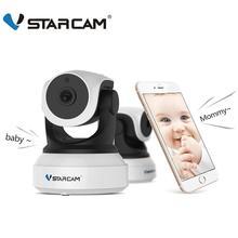 Vstarcam 720 p ip 카메라 무선 2.4g wifi 카메라 감시 보안 카메라 ir 인터콤 모션 감지 app 모바일보기
