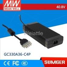Meanbien-chargeur de batterie 40.8V 8A   40.8V 8A meanwell GC330 326.4 V W à sortie unique
