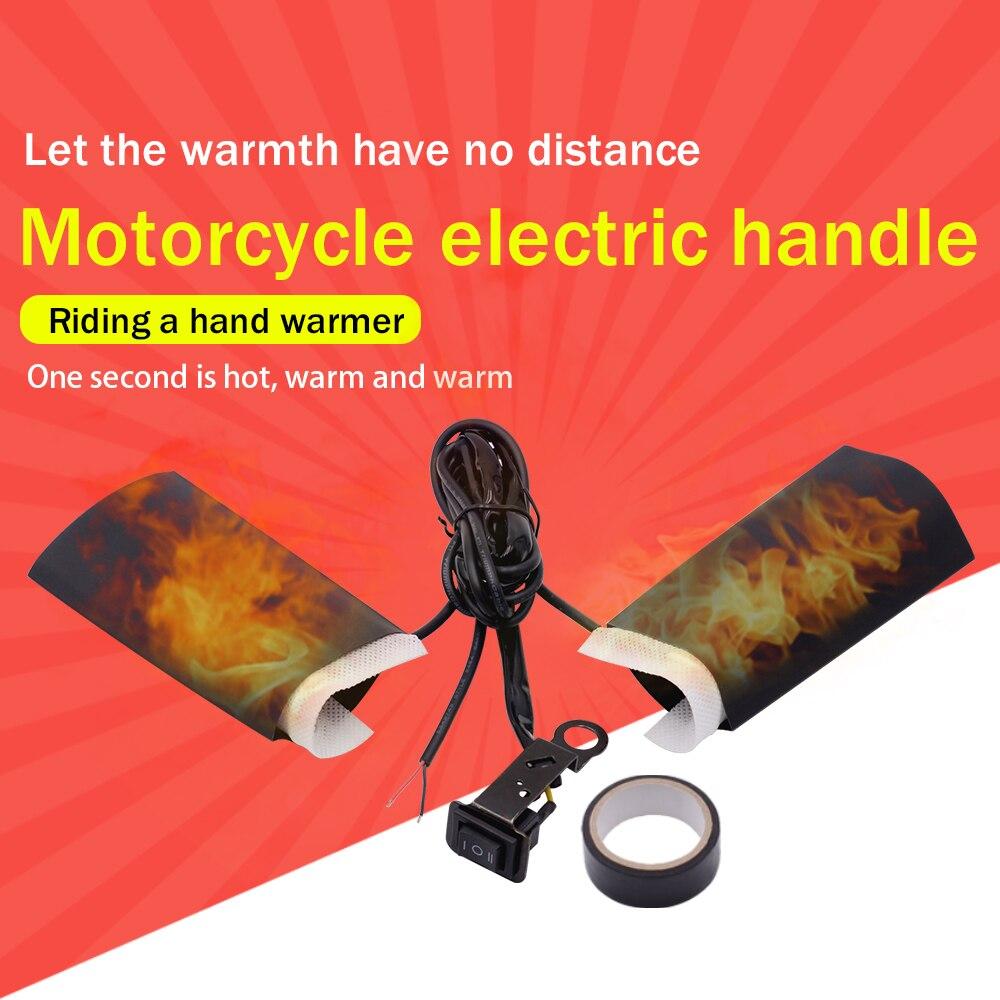 WUPP Universal motocicleta con mango caliente e-bike ATV DC 12V calentador Kit para Motocross Suzuki