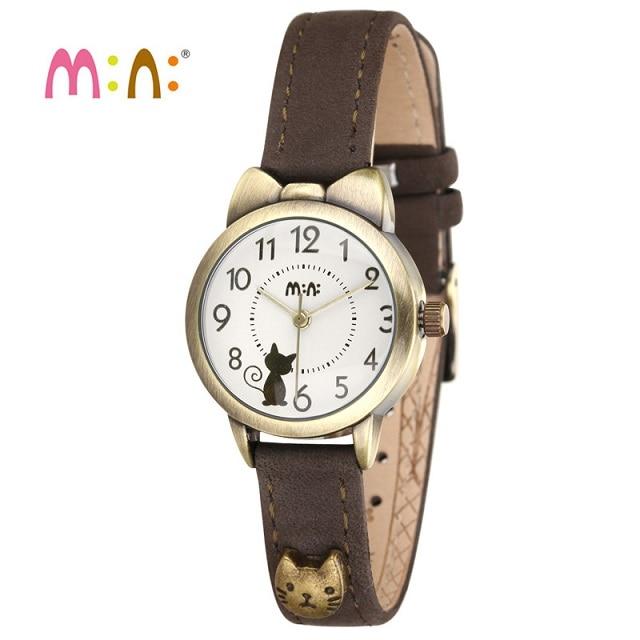 Роскошные Брендовые женские водонепроницаемые часы с кожаным браслетом, Женские кварцевые наручные часы с 3D кошкой, часы для женщин 2020 Reloj ...