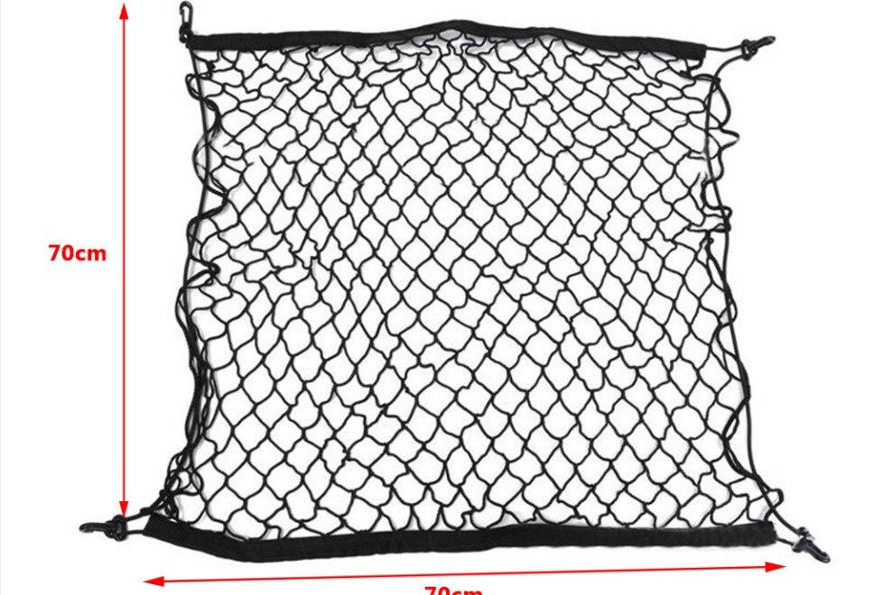 70*70 cm gancho plástico da bagagem do carro para hyundai ix35 ix45 i20 i30 sonata, verna, solaris, elantra acessórios do carro
