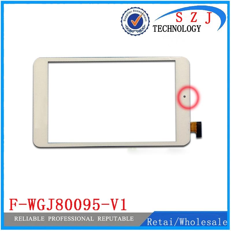 "Nuevo 8 ""pulgadas F-WGJ80095-V1 panel de pantalla táctil cristal digitalizador con sensor U27GT-3GH U27GT XC-PG0800-011FPC-A0 XC-GG0800-008-V1.0"