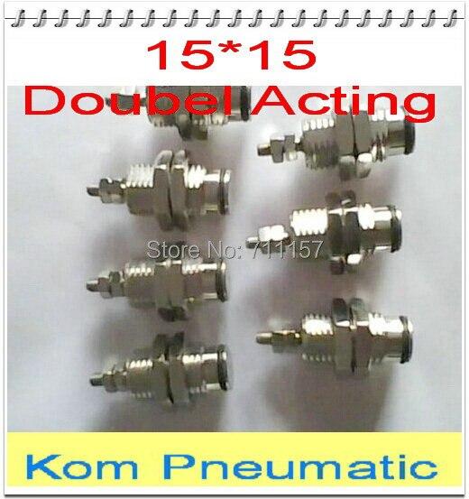 CJPB 15x15 Mini Pneumatic Air Cylinder 15mm bore 15mm stroke 15-15 15*15