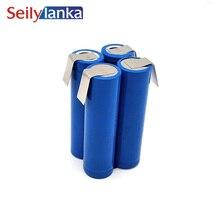 5000 Mah per Metabo 7.2V 18650 Li-Ioni di Litio Batteria Strumento di 6.25487 625487 per Auto-Installazione