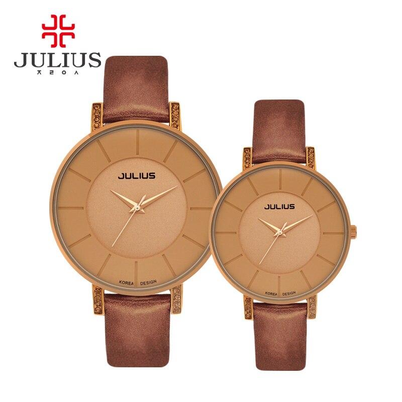 JULIUS брендовые роскошные женские часы 2017 женские наручные часы для девушек модные повседневные кварцевые часы Relogio Feminino женские часы