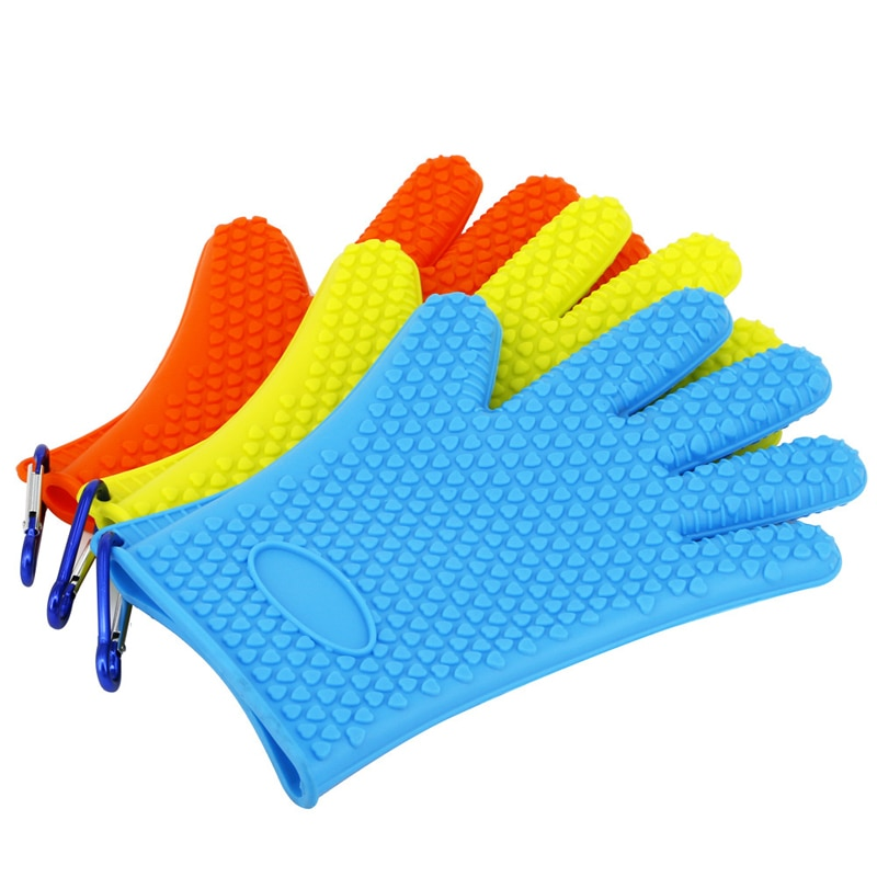 Vissen 1 Pieces Fishing Gloves Fishing Anti-skid Gloves Catch Fish Thickening Rubber Fishing Towel Accessories Tool