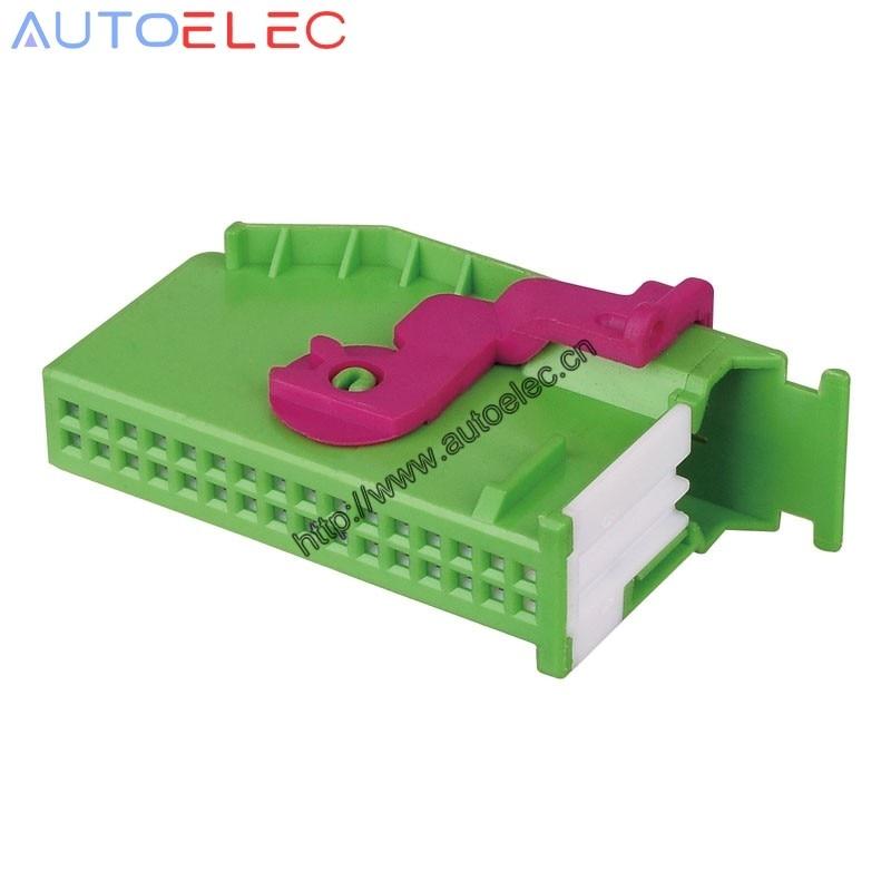 1Kit 1J0972977C 1719057-1 Automotive Connector ECU terminal for Instrument Dashboard Plug Connector Audi VW Seat Skoda TYCO AMP
