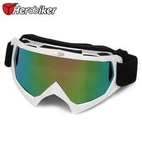 herobiker professional motocross off road glasses downhill dirt bike skate eyewear winter motorcycle atv mtb riding goggles