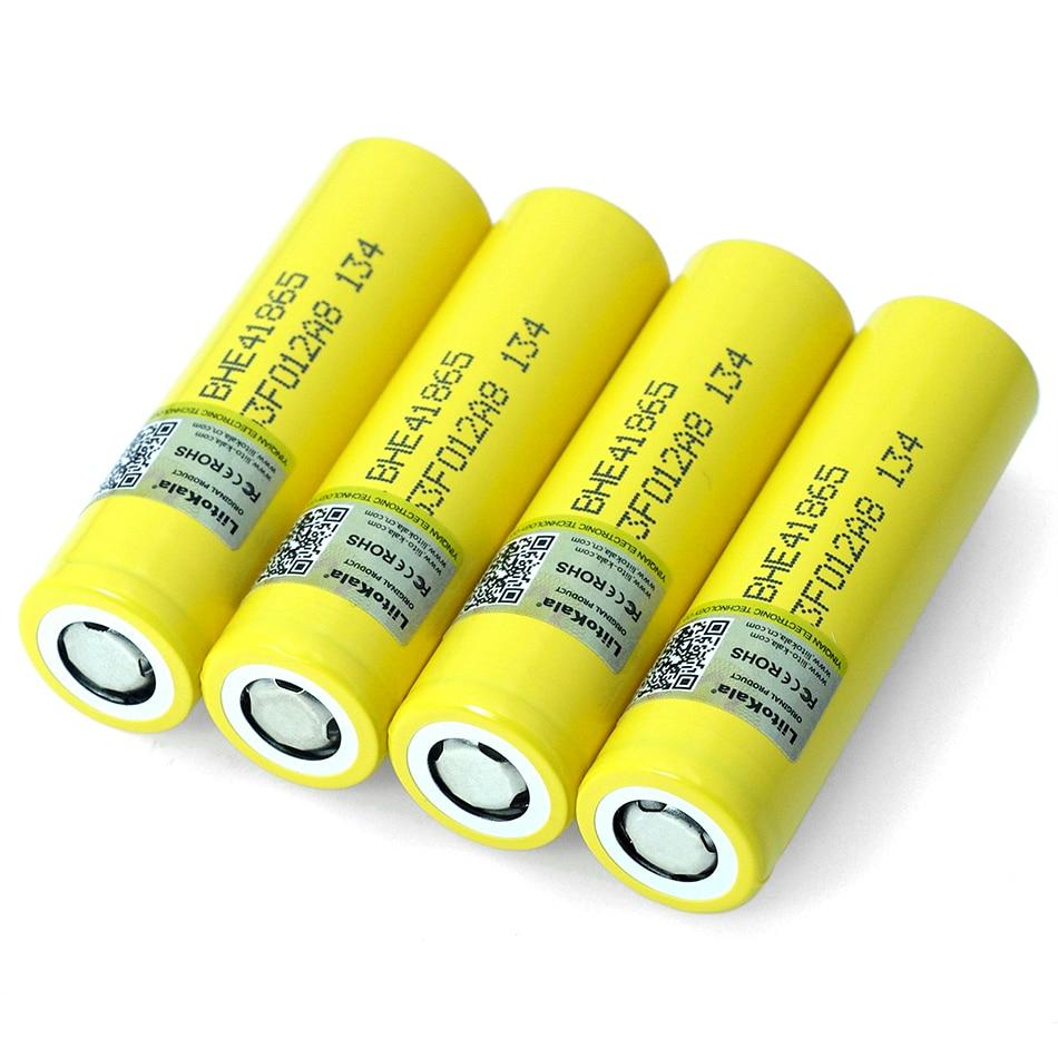 Новый liitokala Оригинал 3,7 в 18650 HE4 2500 мАч батарея мощность 20A 30A разрядка электронная специальная литиевая батарея