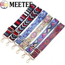 3.8cm de large en Nylon couleur sacs sangles ceinture pince boucle femmes réglable bandoulière 80-140cm cintre sac à main sangles décor