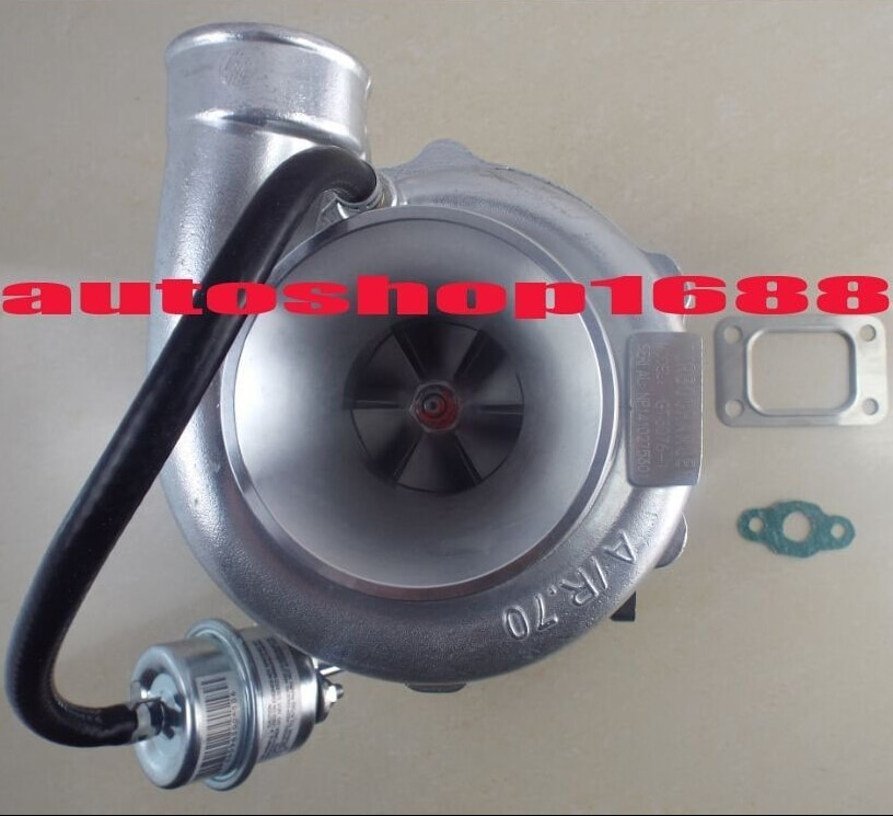 O transporte da gota GT30 GT3076 GT3076-1 T25 UM/R0.70 UM/water & oil 350-450hp R.86 com wastegate turbo turbocharger