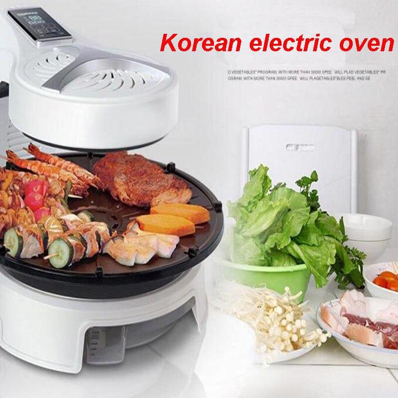 الكهربائية الشواء حفر المنزلية القلي فرن الكهربائية تحميص عموم الكورية شواء المقالي الطبخ وعاء KQB-315
