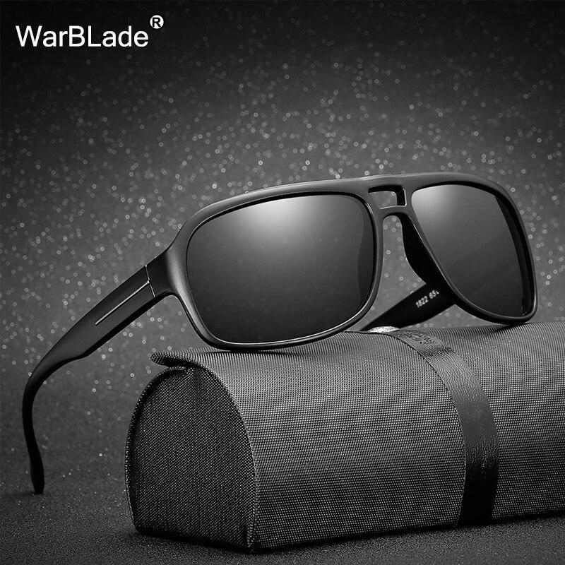 Новые Модные поляризованные солнцезащитные очки WarBLade, роскошные мужские солнцезащитные очки для вождения, UV400, женские и мужские очки Gafas De ...