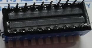 Envío gratis 10PCSx 100% Original EPS110 EPS110A 10P 2,54mm Teclado de Piano azul interruptor DIP EPS110AZ