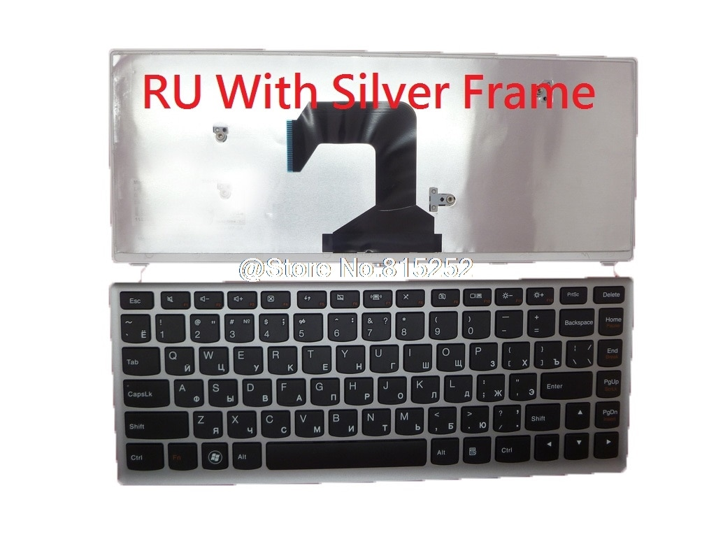 Клавиатура для Lenovo U410 U410T U410 Touch, Belgium BE Канаду, Латинскую Америку, LA российский RU 25203740, 2520375, 25203857, 25203617