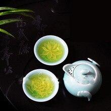 Kung Fu tea pot with 2 cups of Longquan celadon porcelain tea set ceramic teapot on sale