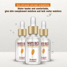 White Rice Extract Moisturizing Hyaluronic Acid Vitamins Serum Facial Skin Care Anti Wrinkle Anti Aging Collagen Essence Liquid2