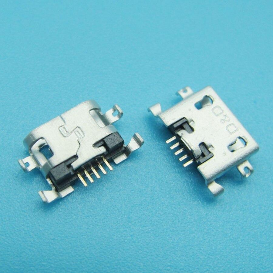 50 piezas Micro mini Usb Jack conector de puerto de carga para Huawei Y600 Y511 Y511-T00 Y511-U10 U30 Y530 Y535 Y535D Y610 enchufe del cargador