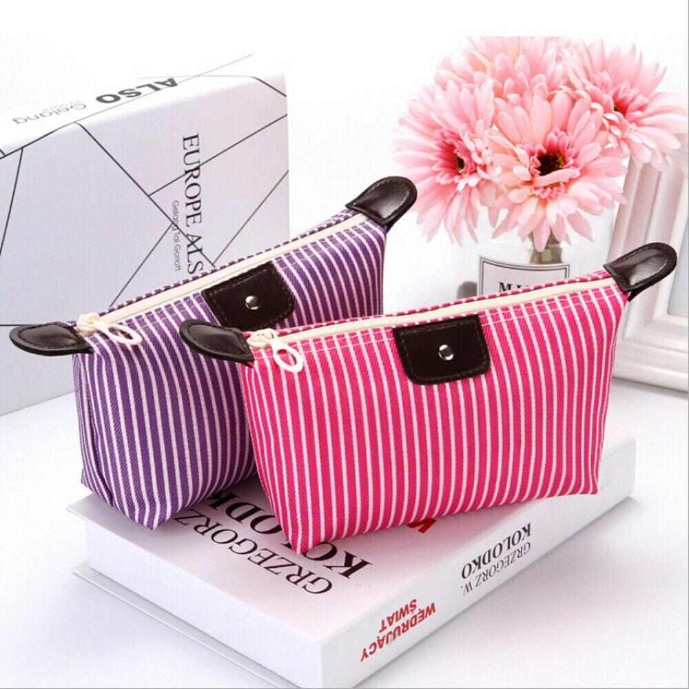 2019 Fashion Beauty Oxford Cosmetic Makeup Bag For Lady Organizer Zipper Handbag Travel Toiletry Cas