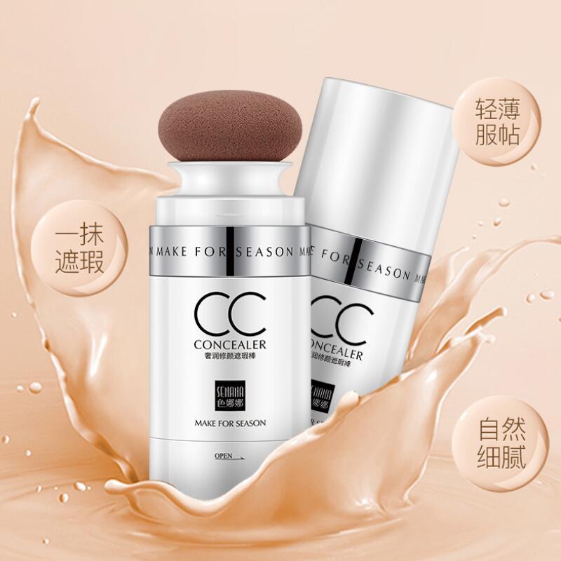 BB crème maquillage fond de teint CC bâton correcteur Base maquillage éclaircissant tête de champignon CC bar coréen cosmétiques