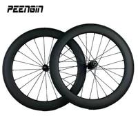 20 mini carbon 451 cheap bmx bicycles wheelset rim 23x50mm clincher tubular 20 inch bicycle wheel novatecpowerway ceramic hubs