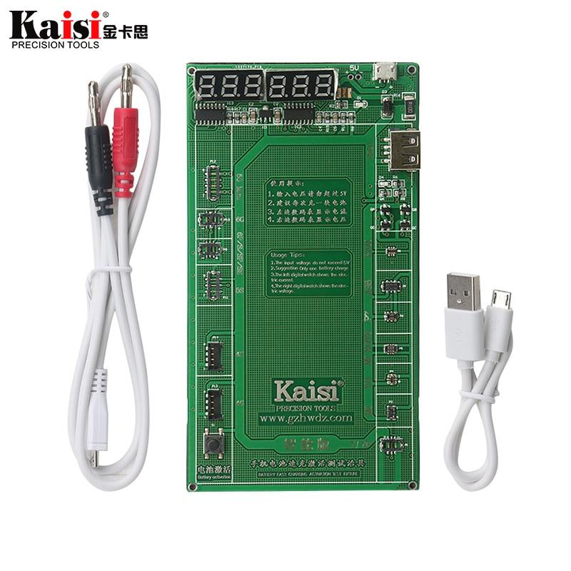 Teléfono universal batería de activación rápida placa de carga Cable Jig para Samsung iPhoneXS X 8Plus 7Plus 6s 5S herramienta de reparación de 4S