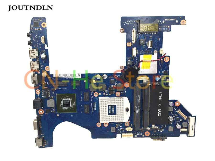 JOUTNDLN para Samsung RF511 placa base de computadora portátil BA92-08195A BA92-08195B DDR3 hm65 W/GT540M GPU