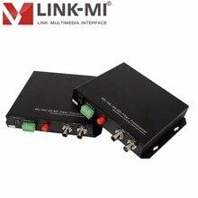 LINK-MI LM-STF5801G Transmission à Fiber optique SD/HD/3G-SDI sur émetteur et récepteur à Fiber optique