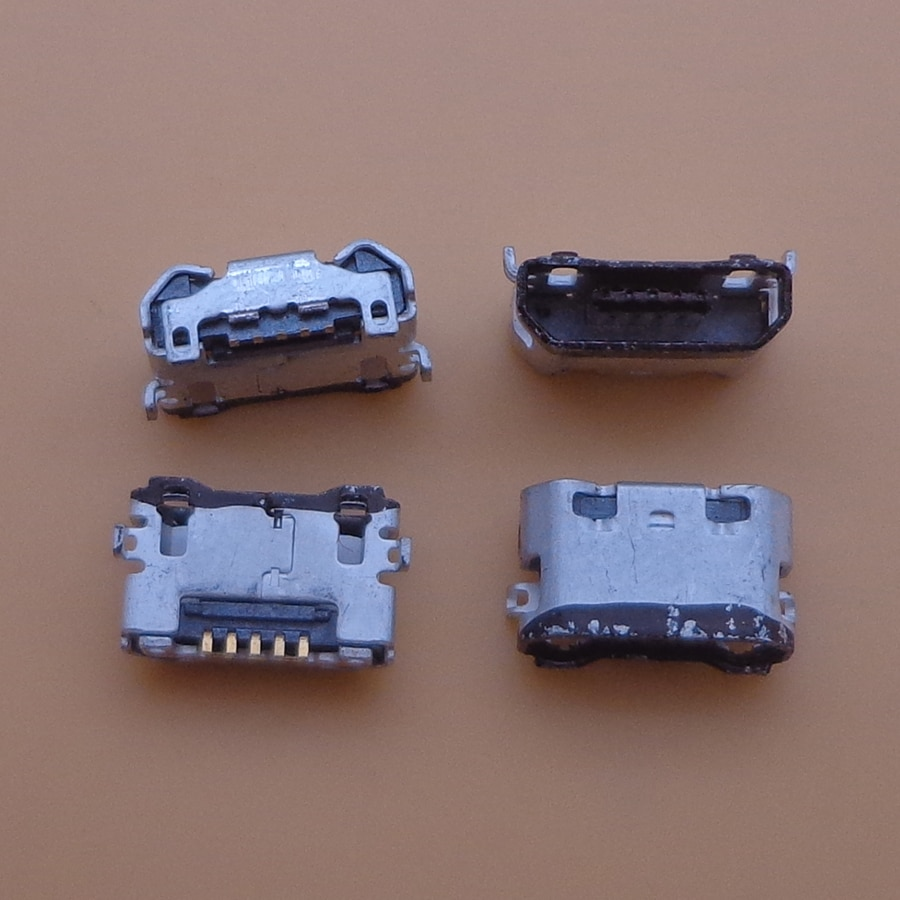 200 stücke micro mini usb Lade connector Port Ersatz jack buchse Für moto rola moto XT1544 XT1550 XT1552 XT1540 XT1548 g3