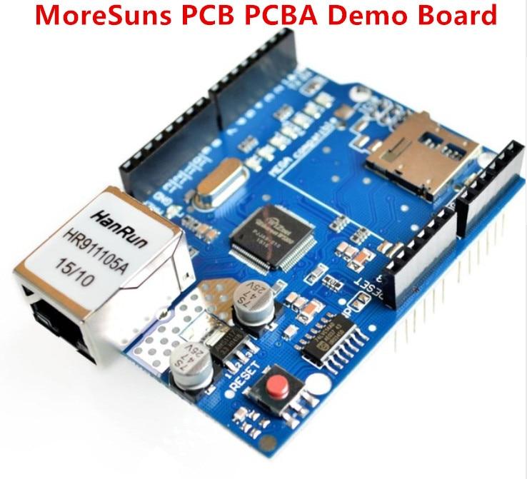 Transporte Rápido Livre – Lote Uno Escudo Ethernet Shield W5100 r3 Mega 2560 1280 328 Unr só Desenvolvimento Bordo Forarduino 10 Pçs