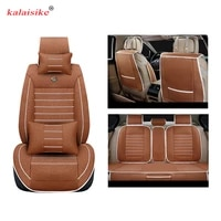 kalaisike linen universal car seat covers for jaguar all models xf xfl f pace xe xj6 xjl car styling accessories auto cushion