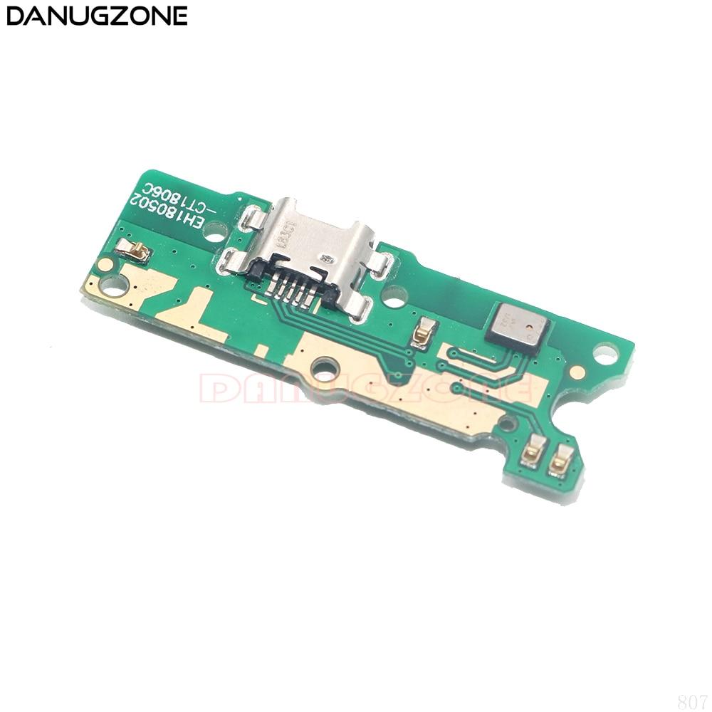 30 pçs/lote para huawei y5 prime 2018 usb placa de carregamento doca tomada tomada tomada tomada conector porto cabo flexível